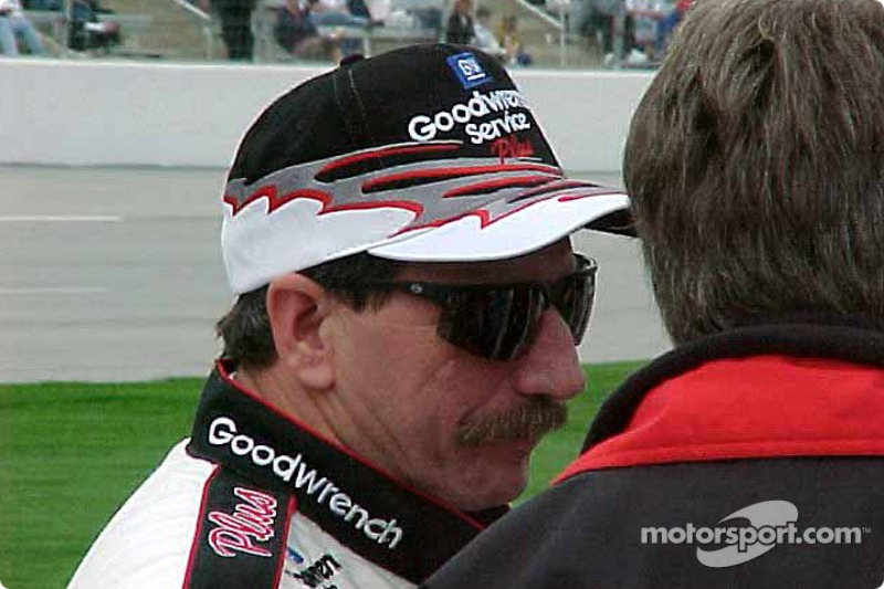 Dale Earnhardt before qualifying