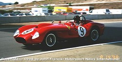 1958 Ferrari 250 Testa Rossa (between turns 3 & 4)