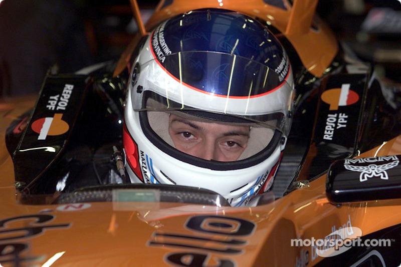 Gaston Mazzacane testing for Arrows