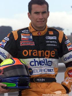Brazilian rookie Enrique Bernoldi