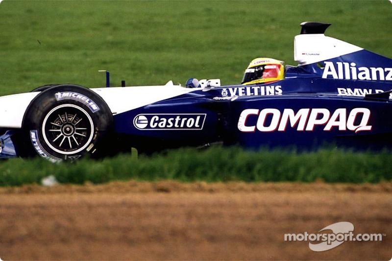 Ralf Schumacher en Luffield