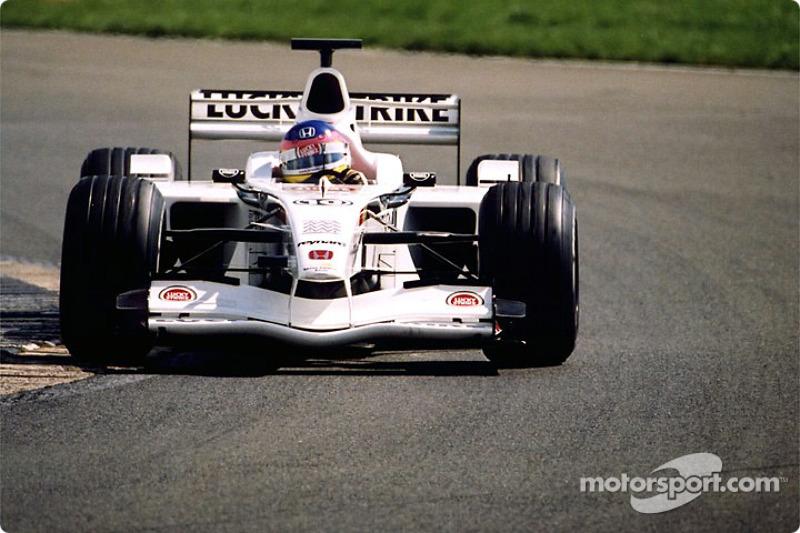 Jacques Villeneuve in Abbey