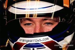 Jos Verstappen en el garage