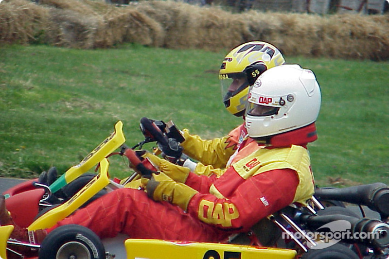 55-Vincent Dinora-Yamaha Lite, 35-Paul Kennedy-100cc Controlled Piston Port