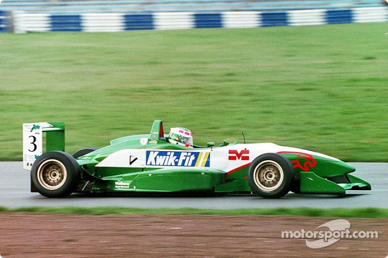 Ande Lotterer Jaguar Racing