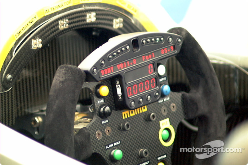 Pescarolo Courage cockpit
