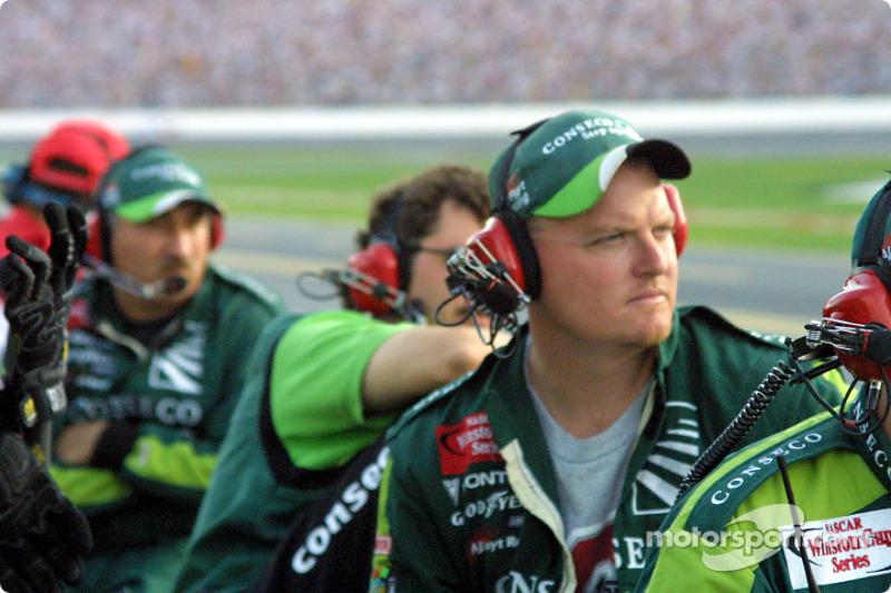 A.J. Foyt Racing pit crew