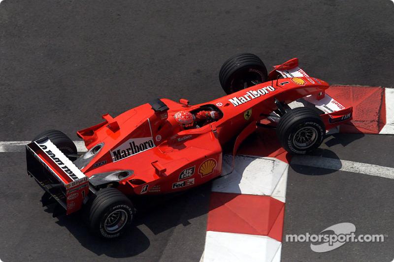 20º: Ferrari F2001 (2001-2002)