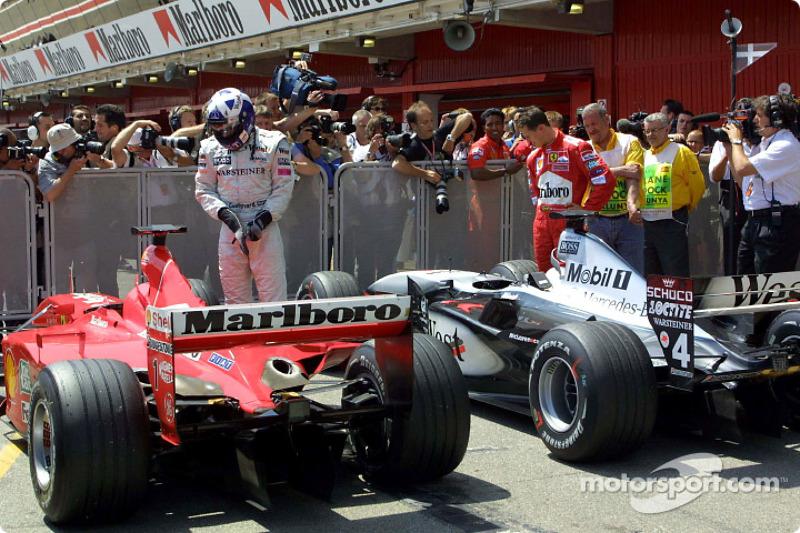 #36 GP d'Espagne 2001 (Ferrari F2001)