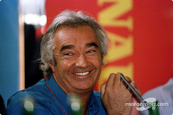 The launch of the Renault Sport driver development program: Flavio Briatore