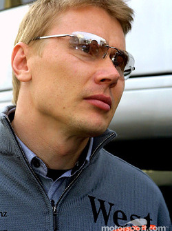 Mika Hakkinen, after the race