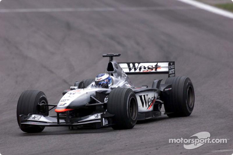 GP da Espanha 2001 – Mika Hakkinen