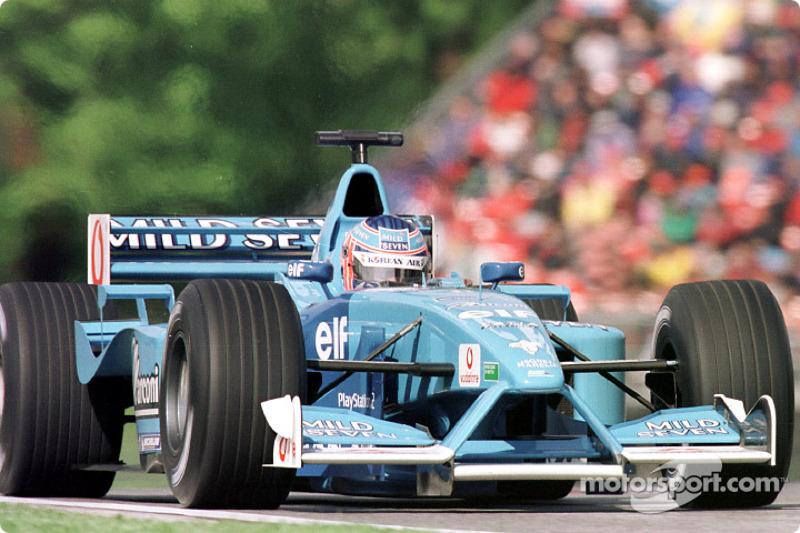 Jenson Button au GP de Saint-Marin