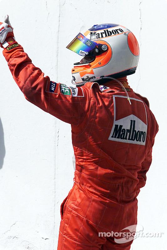A third place for Rubens Barrichello