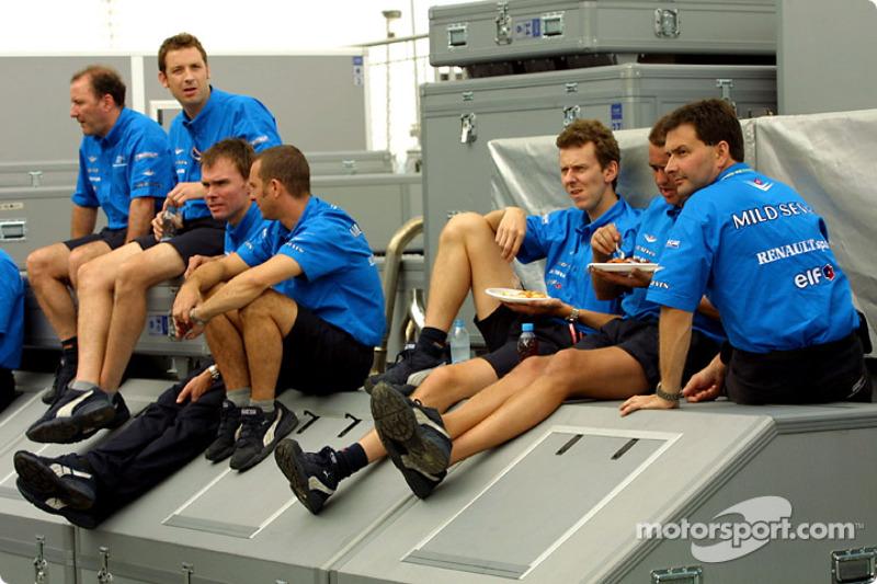 Benetton break time