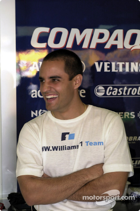 El novato de F1 Juan Pablo Montoya