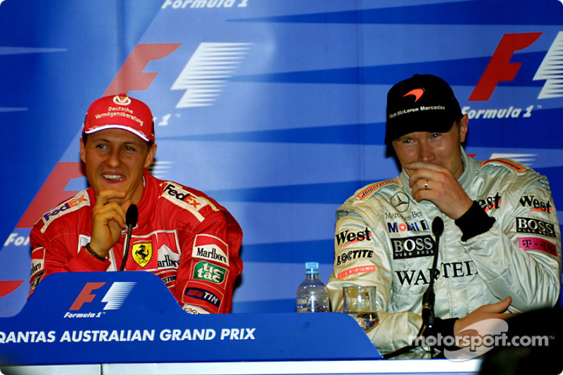 #33 GP d'Australie 2001 (Ferrari F2001)