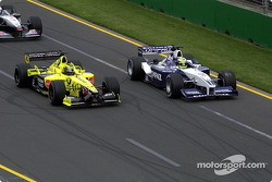 Ralf Schumacher and Heinz-Harald Frentzen