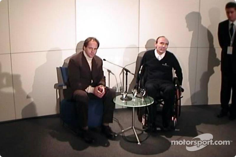 Gehard Berger, Frank Williams