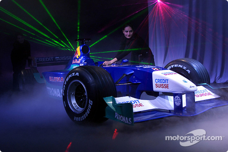 Techno launch for the Sauber C20