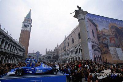 Apresentação do Benetton B201