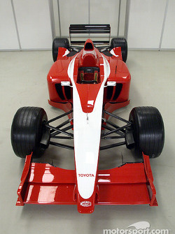 Auto de pruebas de Toyota Formula 1