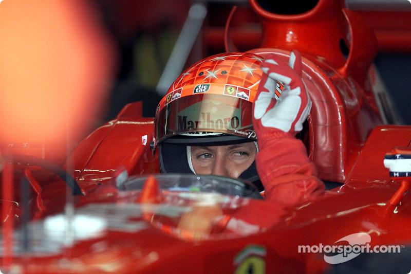 2001 European GP, Ferrari F2001