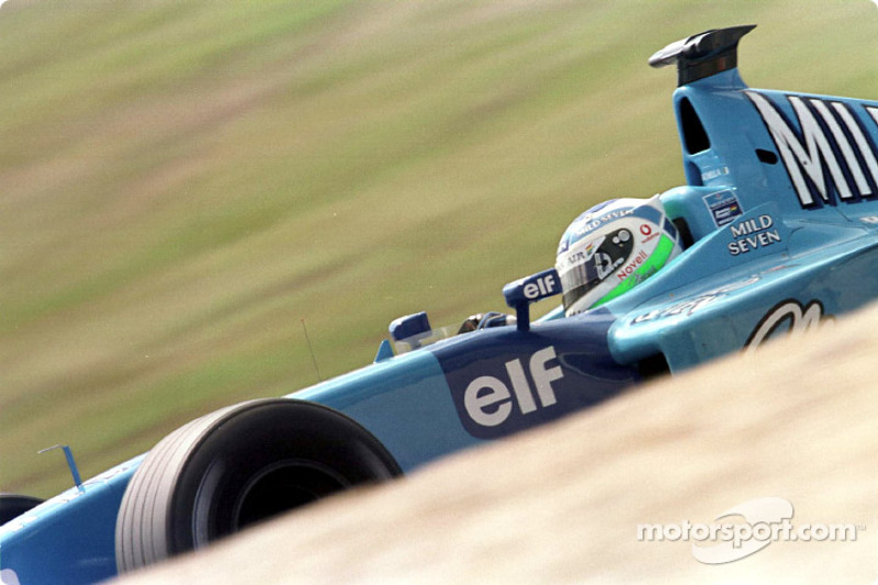 Giancarlo Fisichella au GP d'Europe