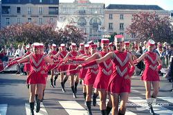 Czech marching girls