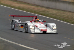 Winning Audi into Esses