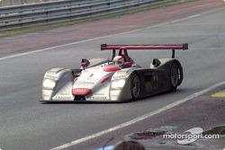 Audi entering Tertre Rouge