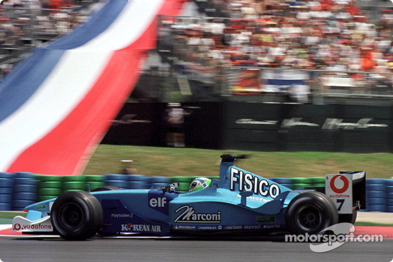 Giancarlo Fisichella au GP de France