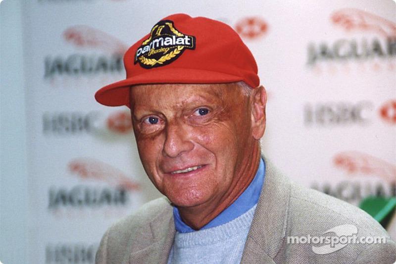 Niki Lauda chez Jaguar