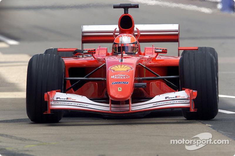 2001 Brit GP, Ferrari F2001