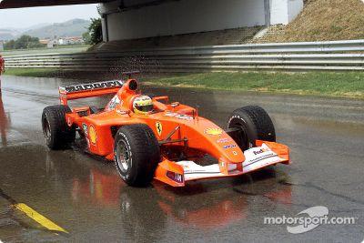 Sesión de pruebas de Ferrari en julio