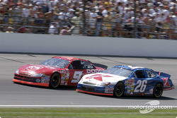 Bill Elliott and Jimmy Spencer