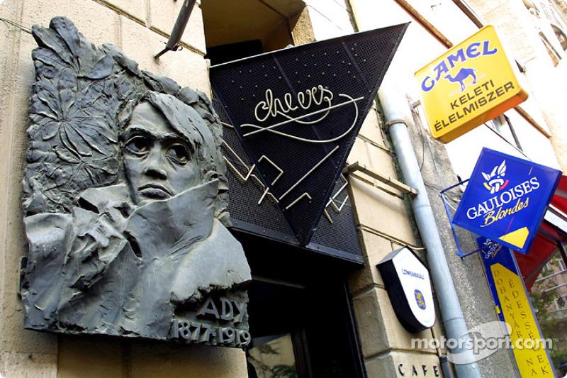 A café in Budapest