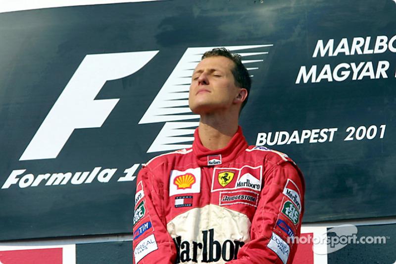 1. und Weltmeister 2001: Michael Schumacher