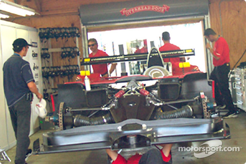 Panoz garage