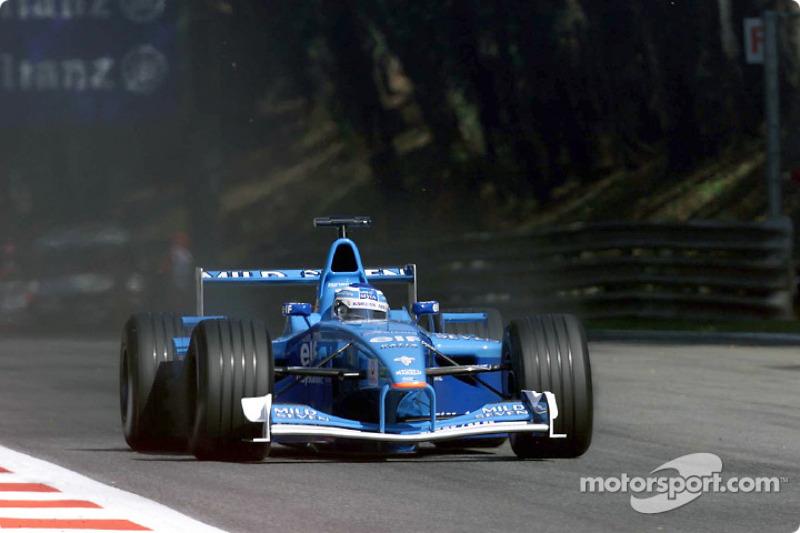 Giancarlo Fisichella au GP d'Italie
