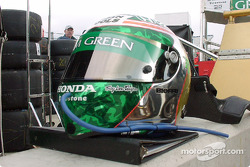 Casque de Paul Tracy