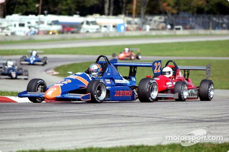 Race Formula Mazda Jay Ricci And Jaimie Bach At Runoffs - Formula mazda
