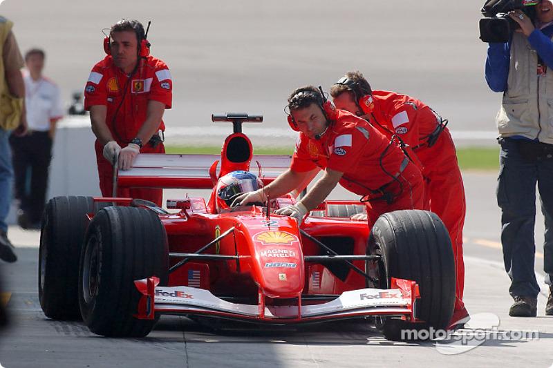 Morning session: Rubens Barrichello