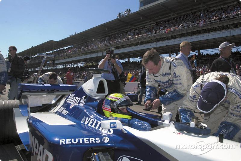 On the grid: Ralf Schumacher