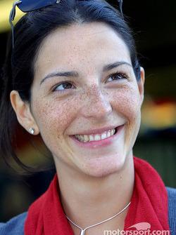 Connie, compagne de Juan Pablo Montoya