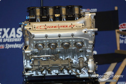 The new 3.5-liter Chevy Indy V8 engine