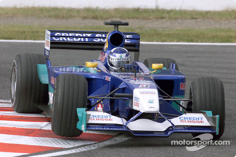 2001: Kimi Raikkonen, Sauber-Petronas C20