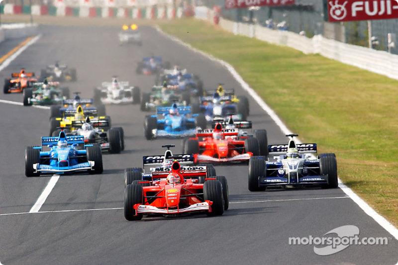 2001 Japán GP, Ferrari F2001