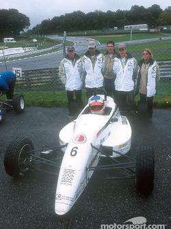 David Lloyd et l'équipe