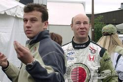 Olivier Panis y David Lloyd